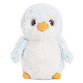 """Aurora World 6"""" Plush Pompom Penguin Blue"""