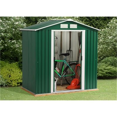 6 x 4 Value Metal Shed (2.01m x 1.22m)