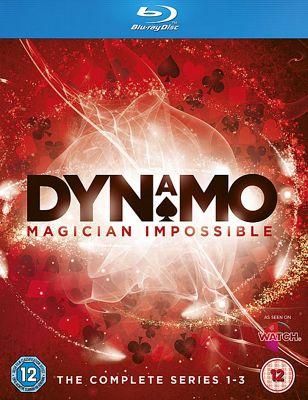 Dynamo: Magician Impossible Series 1-3 (Blu-Ray Boxset)