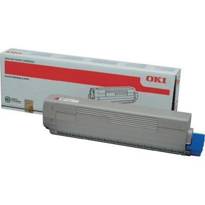 OKI Yellow Toner Cartridge for C822 A3 Colour Printers (Yield 7,300 Pages)
