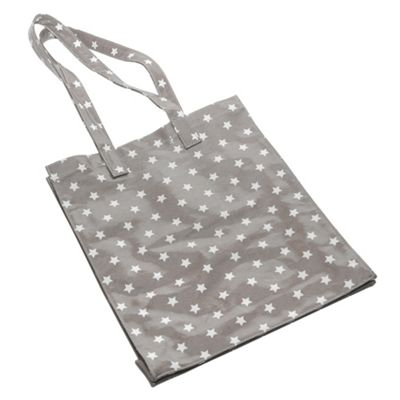 Tesco Canvas Shopping Bag, Grey