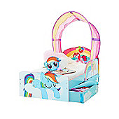 My Little Pony Toddler Bed With Storage Plus Fully Sprung Mattress