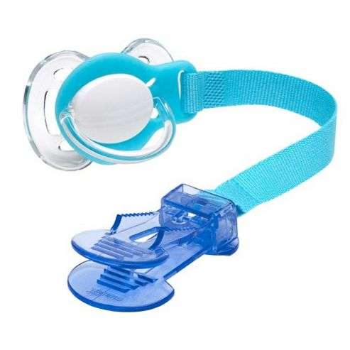 Emmay Care Soother Holder - Blue