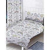 Pastel Unicorns 4 in 1 Junior Bedding Bundle Set