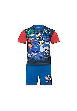 PJ Masks Toddler Boys Short Pyjamas - Blue