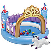 "Intex 51"" Inflatable Magic Castle Bouncer Ball Pit Play Pen"