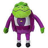 Danger Mouse Talking Soft Toy - Baron Greenback