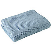 Clair de Lune Cellular Cot Bed Blanket (Blue)