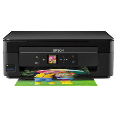 Epson Expression XP342, Wireless All-in-One, Inkjet Colour Printer, A4 - Black