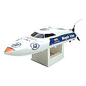 Joysway Magic Vee RC Boat EP RTR 2.4GHz White V3