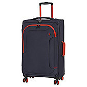IT Luggage The-Lite Chicane 8 Wheel Evening Blue/Orange Medium Suitcase