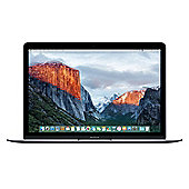 """Apple MacBook 12-inch 256GB Space Grey 12"""", Intel Core m3, 8GB, 256GB, Apple OS X 10.9 Mavericks - OS X El Capitan - Space grey"""