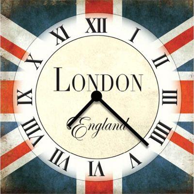 Original Signs - London England Clock