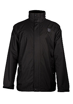 Fairway Men's Waterproof Golf Jacket - Black