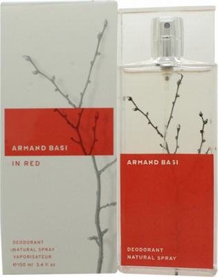 Armand Basi In Red Deodorant Spray 100ml