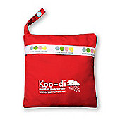Koo-Di Pack-It! Universal Stroller RainCover in Red
