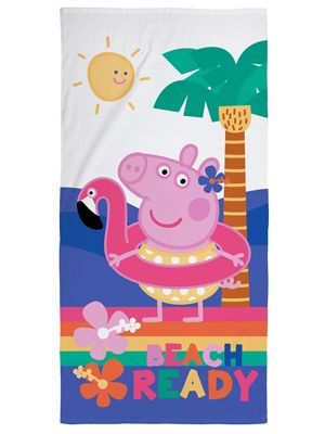 Peppa Pig Hooray Beach Towel
