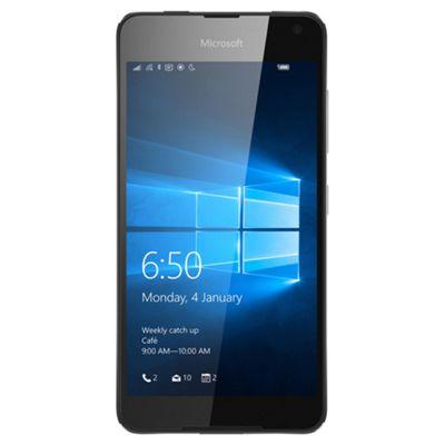 Tesco Mobile Microsoft Lumia 650 Black