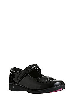 F&F Butterfly Light-Up School Shoes - Black