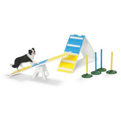 buy schleich dog agility scenery pack from our animal figures range tesco. Black Bedroom Furniture Sets. Home Design Ideas