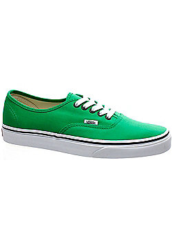 Vans Authentic Bright Green/Black Shoe QER144 - Green
