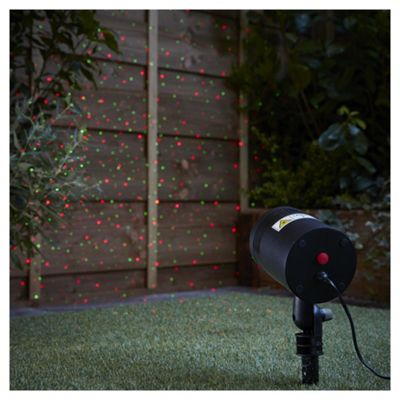 Outdoor christmas projector laser light