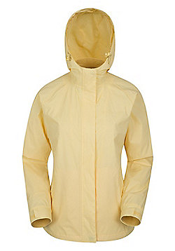 Mountain Warehouse Torrent Womens Waterproof Jacket - Yellow