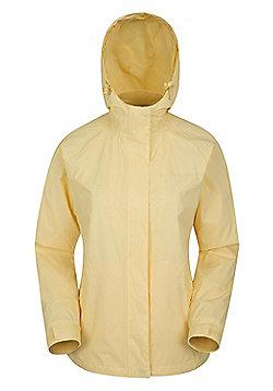 Mountain Warehouse Torrent Womens Waterproof Jacket - Yellow
