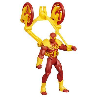 Marvel Ultimate Spider-Man Power Webs - Catapult Smash Iron Spider