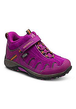 Merrell Kids Light Tech Hike Mid Boots - Purple