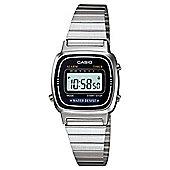 Casio Computer LA670WEA-1EF Ladies Digital Watch Silver