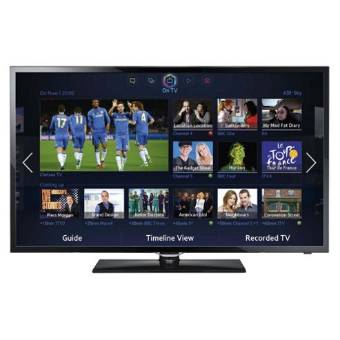 Samsung UE46F5300 46 Inch Smart WiFi Ready Full HD 1080p LED TV With Freeview HD