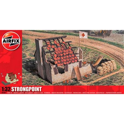 Airfix A06380 Strongpoint 1:32 Model Kit Buildings