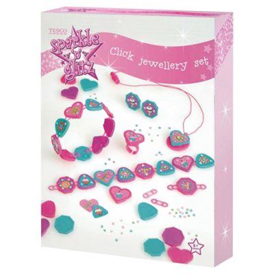Sparkle & Glitz Click Jewellery Set