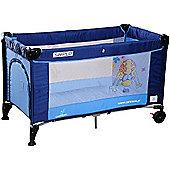 Caretero Simplo Travel Cot (Blue)