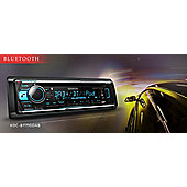 Kenwood In Car Radio-CD-Receiver│CD│MP3│Aux│Aac│Bluetooth│iPhone-Android Stereo Player│KDC 520U