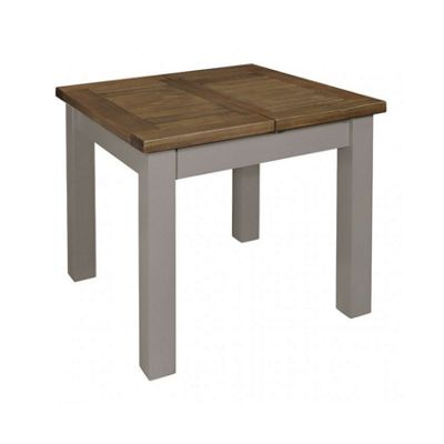 Cotswold Grey Painted Small 90cm Extending Dining Table