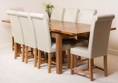 Admirable Buy Farmhouse Rustic Solid Oak Extending 200 280 Cm Dining Download Free Architecture Designs Scobabritishbridgeorg