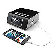 Majority Abbey DAB FM Radio Alarm Clock
