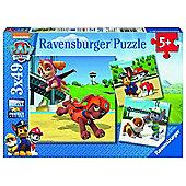 Paw Patrol - 3x49pc Puzzle