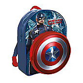 Marvel Avengers Captain America Shield Backpack