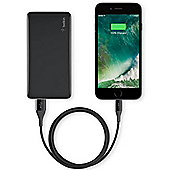 Belkin Pocket Power 5K Power Bank (aka Portable Charger) Black
