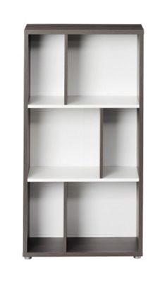 Tvilum Orchid Low Asymetrical Bookcase
