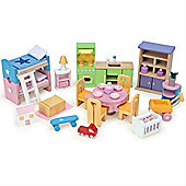 Le Toy Van daisylane Starter Furniture Set