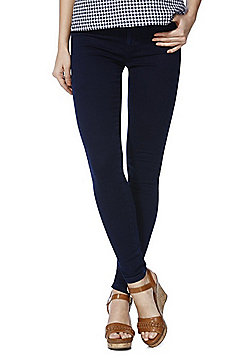 Only High Waisted Stretch Skinny Jeans - Indigo