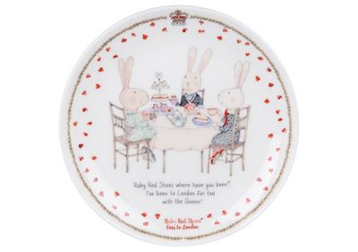 Ruby Red Shoes London Cousins Cake Plate