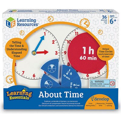 Learning Resources About Time Maths Activity Kit