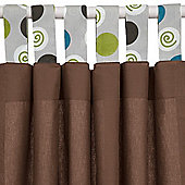 Baroo Tab Top Curtains (Candy Swirl)