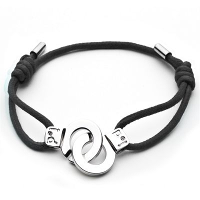i.d x-change Cuffs of Love Bracelet - Black Medium