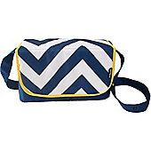 My Babiie Baby Changing Bag (Blue Chevron)
